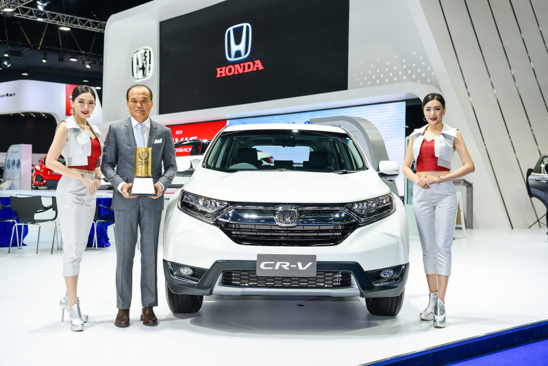 Honda CR-V TAJA Award 2017