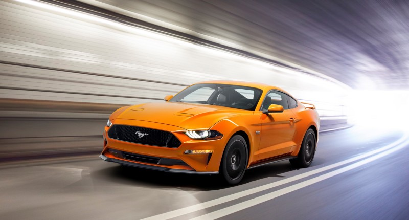New Ford Mustang V8 GT With Performance Package 01