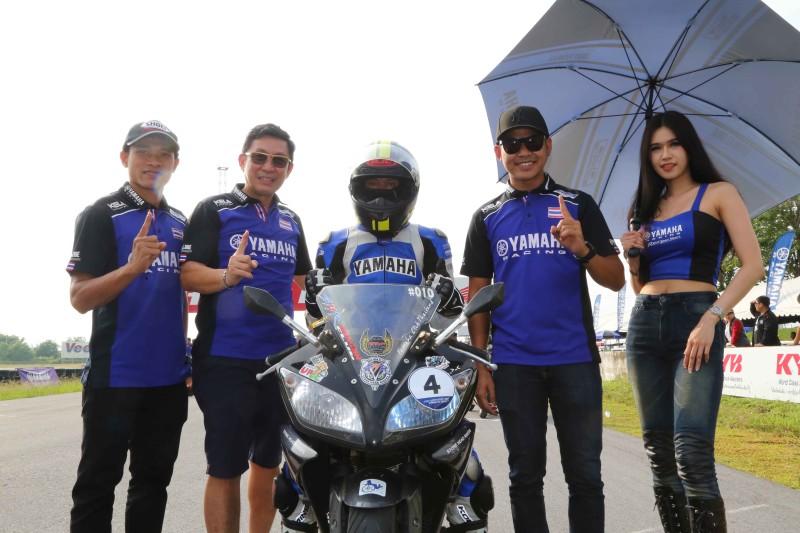 03 ยามาฮ่าตอกย้ำผู้นำมอเตอร์สปอร์ตตัวจริง จัดกิจกรรม YAMAHA R-Series Track Day