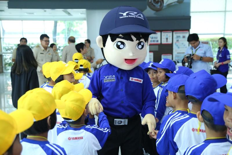 05 ยามาฮ่าเปิดอบรมหลักสูตร Road Safety for Children 2018