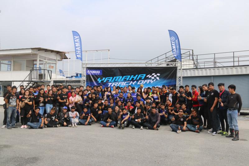 22 ยามาฮ่าตอกย้ำผู้นำมอเตอร์สปอร์ตตัวจริง จัดกิจกรรม YAMAHA R-Series Track Day