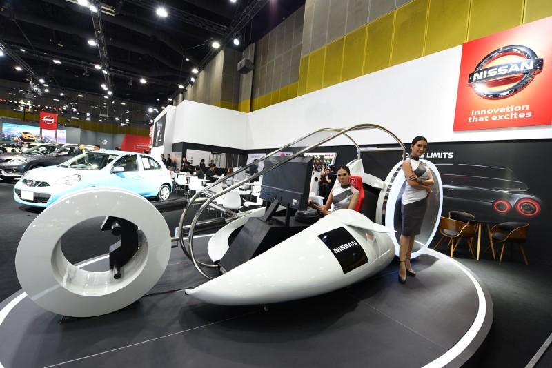นิสสัน ชวนแฟนๆ สัมผัสประสบการณ์ขับที่ตื่นเต้นรูปแบบใหม่ผ่านเครื่อง  จีที เรซซิง พอด ในงาน FAST Auto Show Thailand