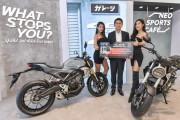 """รถจักรยานยนต์ฮอนด้า จัดโปรฯ """"Welcome To CB World"""" ซื้อ Honda CB150R และ CB300R รับฟรี กล้อง GOPRO HERO 4 Silver Edition"""