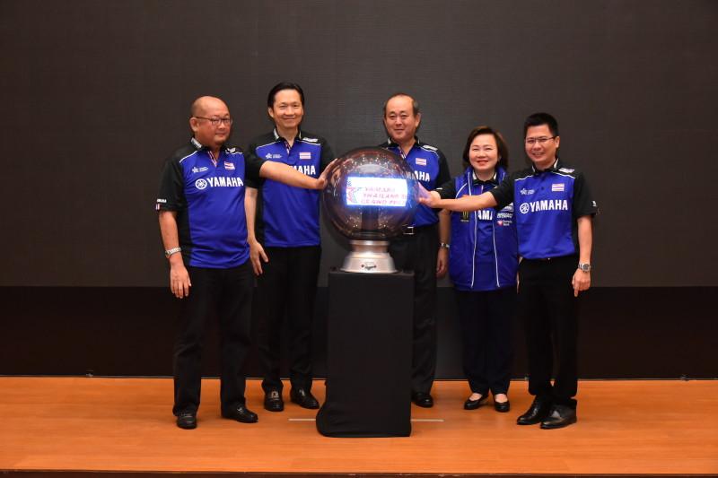 """02 ยามาฮ่าจัดการแข่งขัน """"THAILAND TECHNICIAN GRAND PRIX 2018"""""""