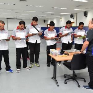 """03 ยามาฮ่าจัดการแข่งขัน """"THAILAND TECHNICIAN GRAND PRIX 2018"""""""