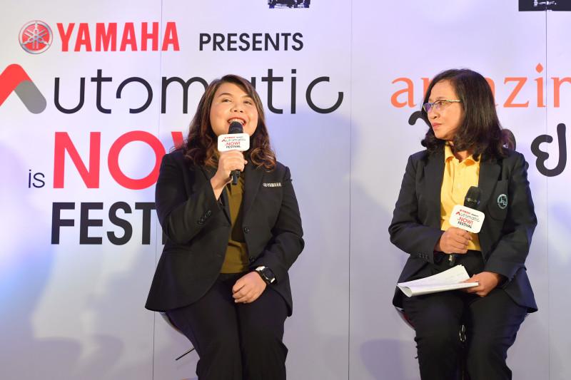 03 ยามาฮ่าผนึกกำลังการท่องเที่ยวแห่งประเทศไทยจัดเทศกาลสุดยิ่งใหญ่