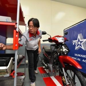 """05 ยามาฮ่าจัดการแข่งขัน """"THAILAND TECHNICIAN GRAND PRIX 2018"""""""