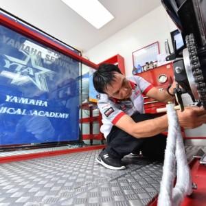 """07 ยามาฮ่าจัดการแข่งขัน """"THAILAND TECHNICIAN GRAND PRIX 2018"""""""