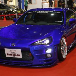 1 สุดยอดรถแต่งจากประเทศญี่ปุ่น TOYOTA 86 WIDE BODY ROHAN G CANDY