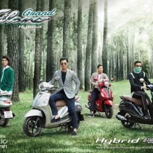 29 ยามาฮ่ารุกตลาดครั้งใหญ่ ส่ง New Yamaha Grand Filano Hybrid