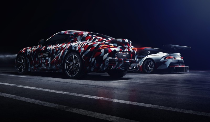 All New Toyota Supra เตรียมเผยโฉมในงาน Goodwood Festival Of Speed 2018