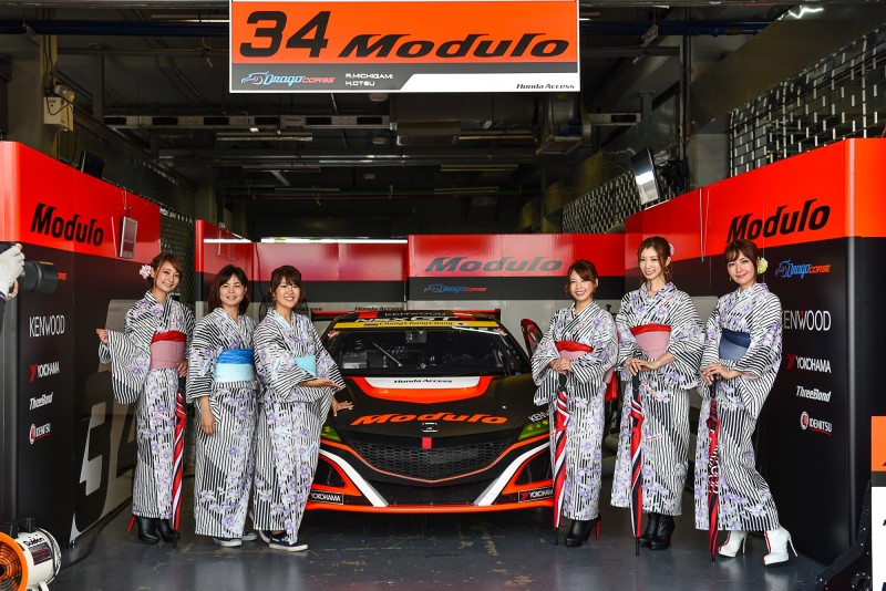 Honda Race Queen - Modulo Drago CORSE (No.34 - GT300) (1)