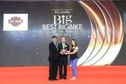"Fat Bob™ จากฮาร์ลีย์-เดวิดสัน®  คว้ารางวัล  ""Big Best Big Bike Of The Year 2017-2018""  ในงาน Big Motor Sale 2018"