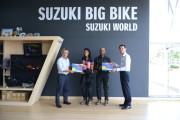 บททดสอบสมรรถนะอันยอดเยี่ยมรถจักรยานยนต์ ซูซูกิ    สื่อมวลชนจากประเทศอินเดีย เดินสายพิสูจน์สมรรถนะรถจักรยานยนต์ ซูซูกิ จากประเทศอินเดียสู่ประเทศไทย