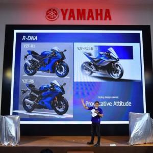 03 ยามาฮ่าเปิดตัว New YZF R3 พร้อมกันทั่วโลกอย่างยิ่งใหญ่