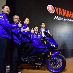 08 ยามาฮ่าเปิดตัว New YZF R3 พร้อมกันทั่วโลกอย่างยิ่งใหญ่