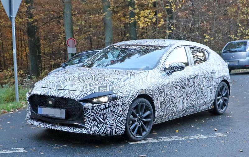 หลุดทดสอบ All New Mazda 3 ครั้งแรก