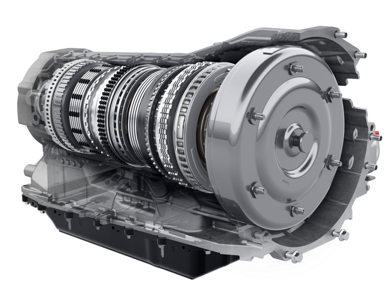 Ford 10-Speed transmission section