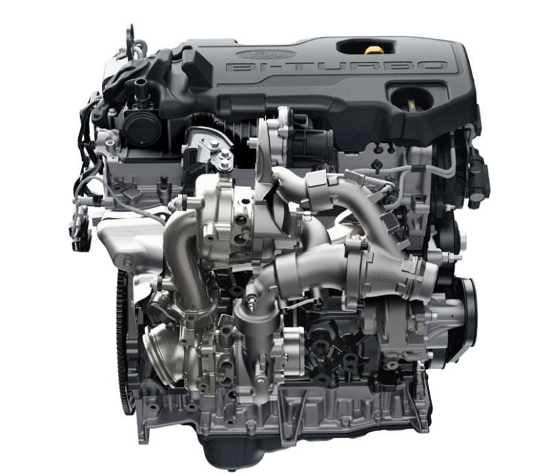 Ford New Bi-Turbo Engine for Ranger Raptor