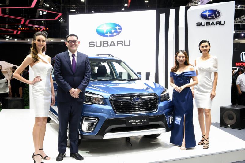 ดิ ออล นิว ซูบารุ ฟอเรสเตอร์ (The All New Subaru Forester) จากสายการผลิตของโรงงานแห่งแรกในประเทศไทย พร้อมจองแล้ววันนี้