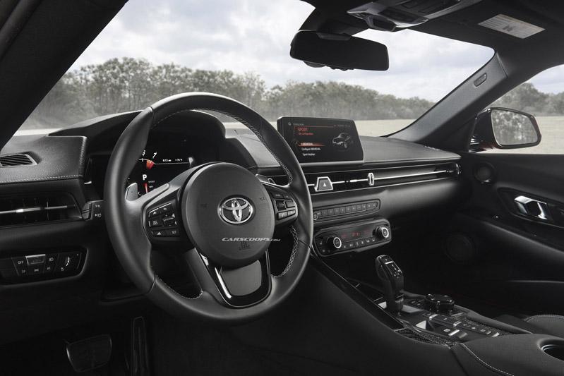 เผยภาพเต็มคัน Toyota Gr Supra ก่อนเปิดตัวปี 2020 มีคลิป