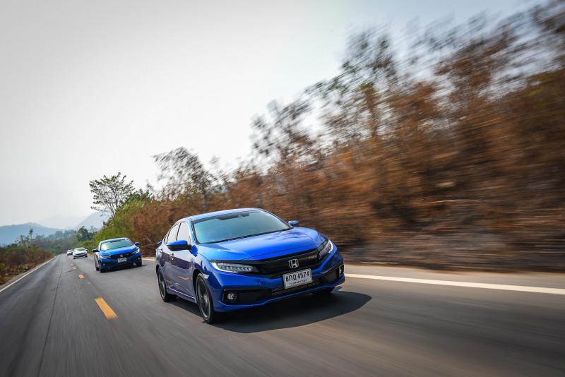 ลองขับ Honda Civic Turbo RS MY 2019 อัพเกรด Honda Sensing ปลอดภัยเหนือระดับ