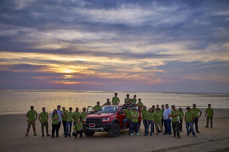 """ฟอร์ดประเทศไทยจัดทริปสุดพิเศษ """"Ford Ranger Raptor – The Mysterious Journey""""  พาผจญภัยธรรมชาติอันสวยงามบนเส้นทางชายฝั่งทะเลอันดามัน"""