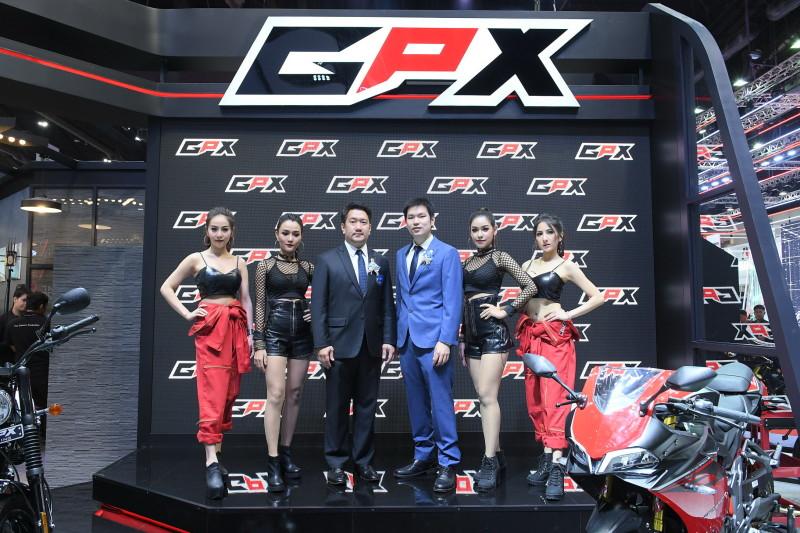 จีพีเอ็กซ์ เปิดตัวในงาน Motor Show 2019