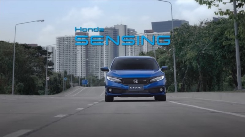VDO – Honda SENSING Demonstration (Scene)