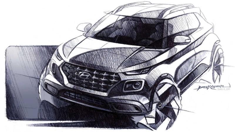 """Hyundai เตรียมเปิดตัว SUV ขนาดเล็กในชื่อ """"Venue"""""""
