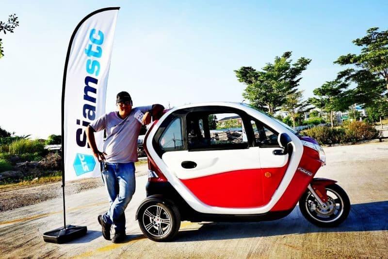 ลองขับ SEV FUTURO สามล้อพลังงานไฟฟ้าฝีมือคนไทยจาก H SEM MOTOR