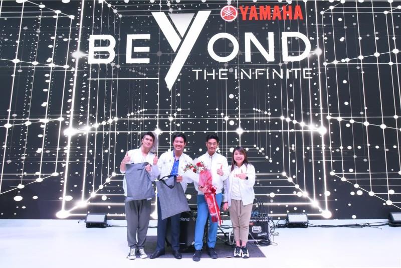 Getsunova เยี่ยมชมนวัตกรรมที่บูธ Yamaha – Beyond The Infinite พร้อมโชว์ มินิคอนเสิร์ตสุดมันส์