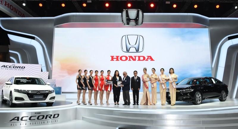 Main Honda Motor Show 2019 Award