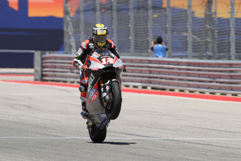 Luthi, Moto2 race, Grand Prix of the Americas 2019.