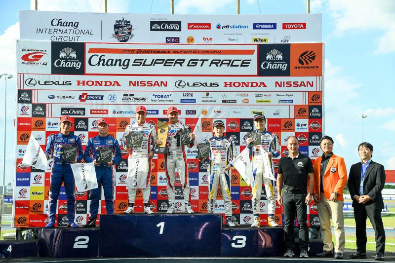 Super GT Chang International Circuit 2018