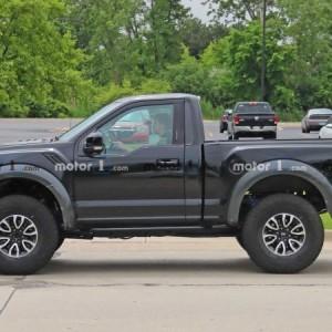 Ford Raptor Bronco Mule Spy Photo (2)