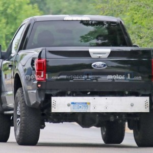 Ford Raptor Bronco Mule Spy Photo (4)