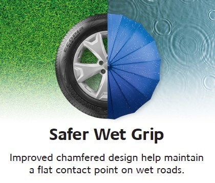 Safer wet grip