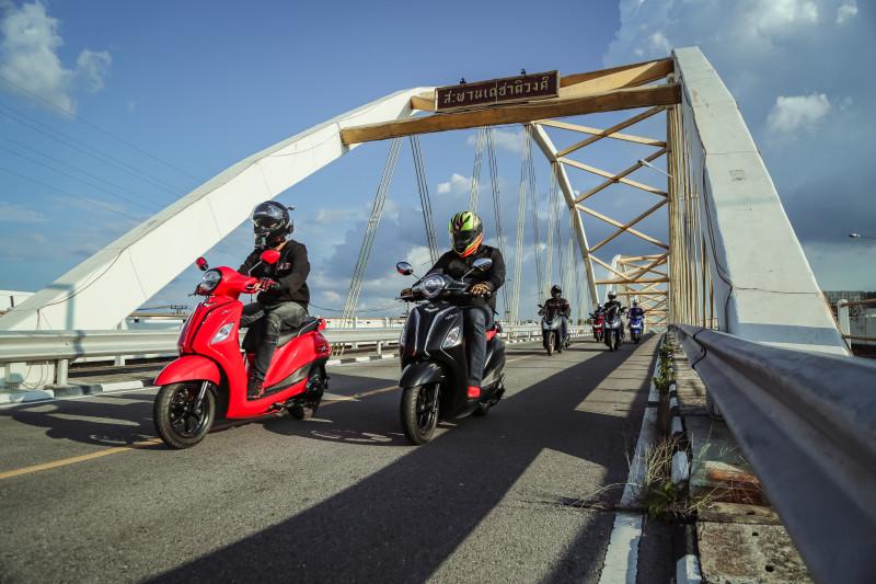 ยามาฮ่าชวนสื่อสัมผัส ออโตเมติก 125 อย่างจุใจ กับทริป YAMAHA AUTOMATIC PRESS TOURING TRIP นครสวรรค์-กำแพงเพชร
