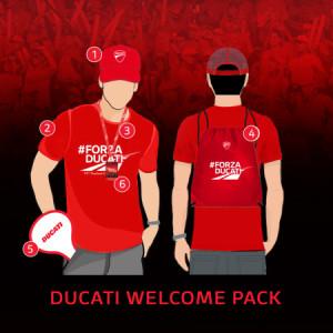 DucatI Welcome Kit @MOTOGP 2019