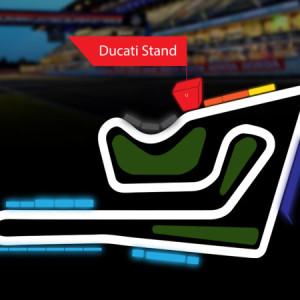 Ducati Stand @MotoGP 2019