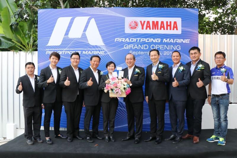 ยามาฮ่ารุกหนักยานยนต์ทางน้ำ เปิดโชว์รูม Yamaha Marine @สมุย หวังครองตลาดการท่องเที่ยวภาคใต้