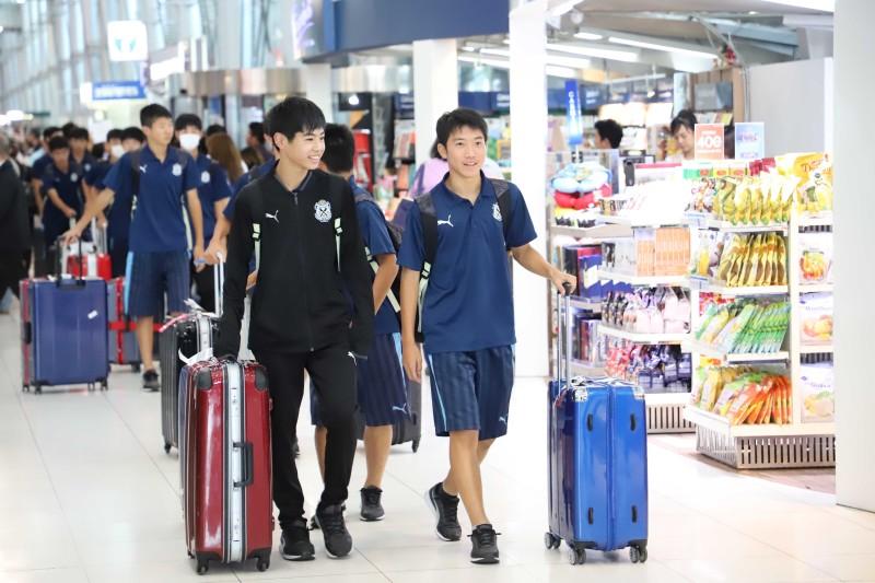03 ยามาฮ่าต้อนรับทัพนักเตะ JUBIO IWATA เข้าร่วมทำการแข่งขันในศึก U14 International Champion 2019 ที่บุรีรัมย์(1)