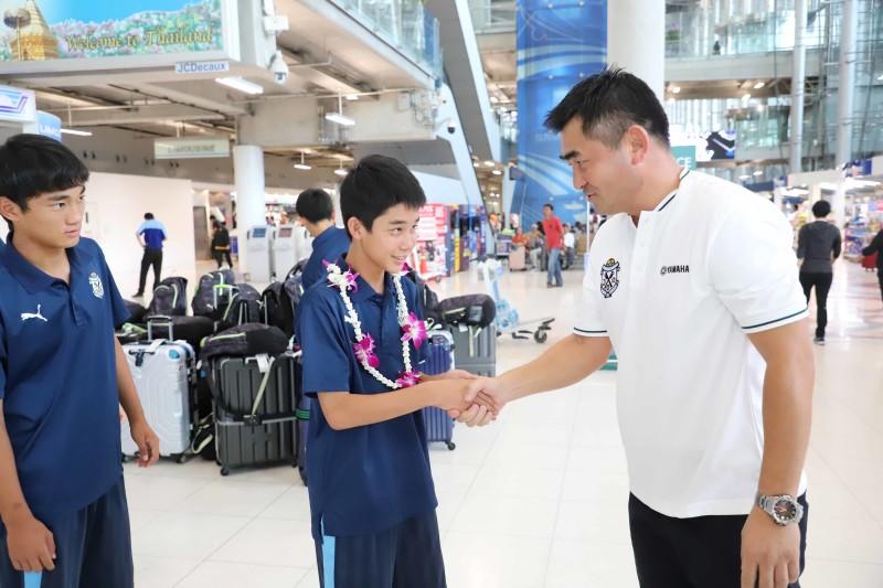 06 ยามาฮ่าต้อนรับทัพนักเตะ JUBIO IWATA เข้าร่วมทำการแข่งขันในศึก U14 International Champion 2019 ที่บุรีรัมย์