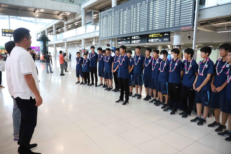 10 ยามาฮ่าต้อนรับทัพนักเตะ JUBIO IWATA เข้าร่วมทำการแข่งขันในศึก U14 International Champion 2019 ที่บุรีรัมย์