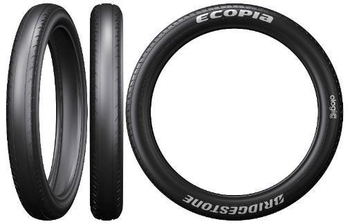 """ยางรถยนต์พลังแสงอาทิตย์ """"ECOPIA with ologic"""""""