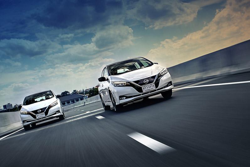 ลองขับ Nissan Leaf ชาร์จไฟครั้งเดียวเที่ยวรอบกรุงฯ