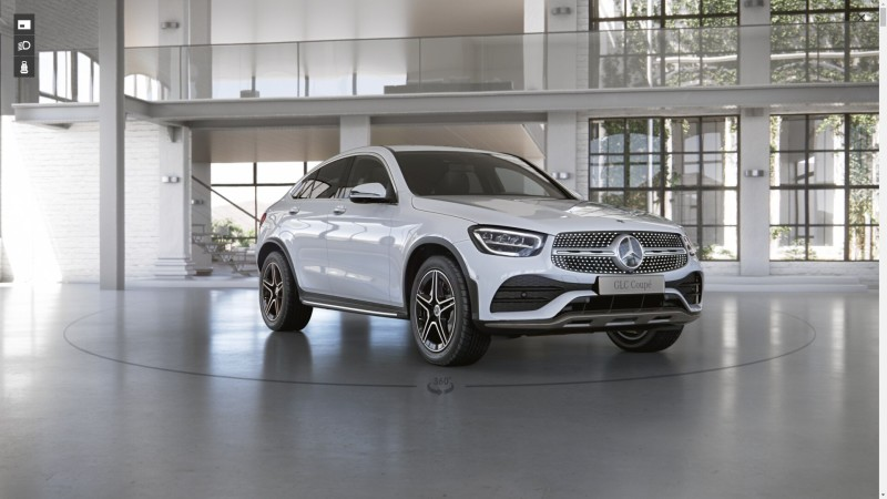 Mercedes-Benz GLC 220 d 4MATIC Coupe AMG Dynamic