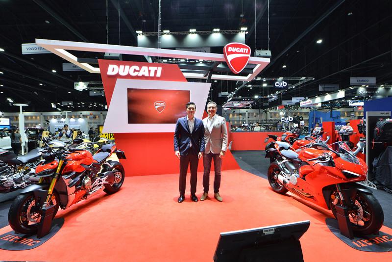 ดูคาติเปิดตัว 2 รุ่นใหม่ในงาน Motor Expo 2019