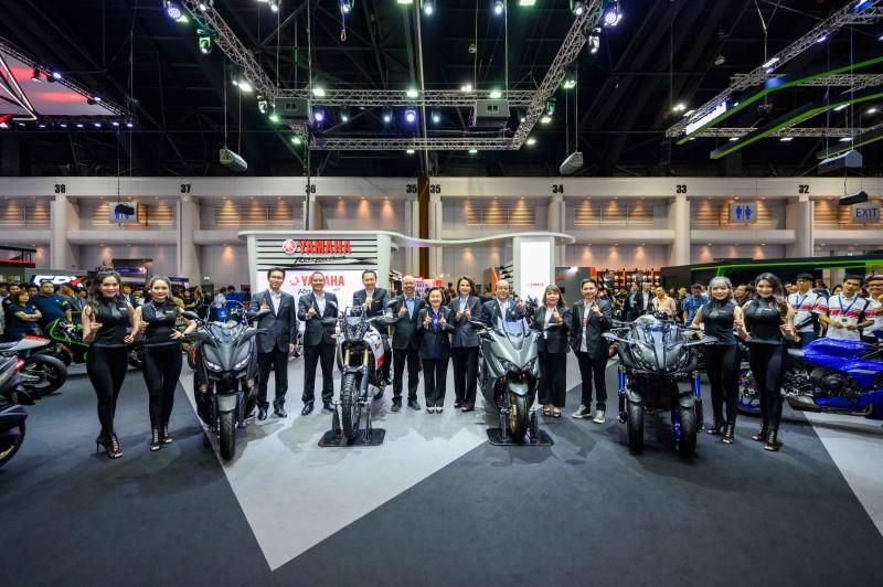 ยามาฮ่าเปิดบูธในงานมอเตอร์เอ็กซ์โป 2019 พร้อมเปิดตัว Tenere 700 และ TMAX 560 อย่างยิ่งใหญ่